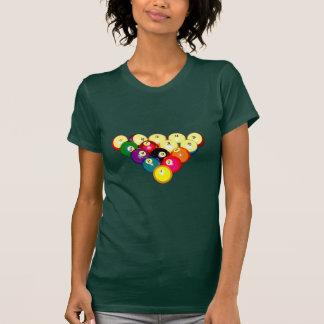 Billard-volles Gestell 8-Ball T-Shirt