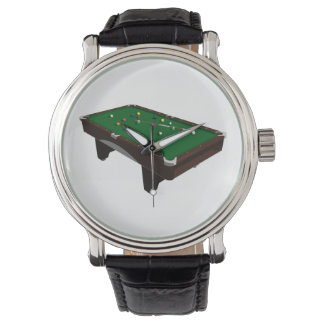 Billardtisch Uhr