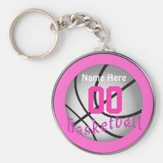 Billige Basketball-Geschenke für Mädchen-Team Schlüsselanhänger