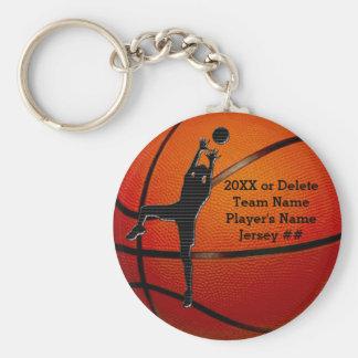 Billige personalisierte Basketball Keychains Schlüsselanhänger