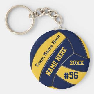 Billige personalisierte Volleyball Keychains Masse Schlüsselanhänger