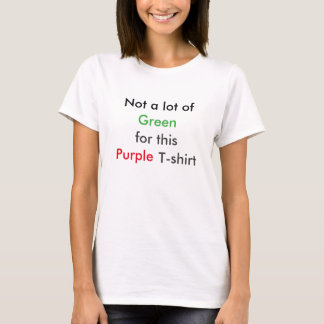 Billiger u. bunter T - Shirt
