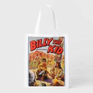 Billy 1955 der jährliche Abdeckungsdruck des Wiederverwendbare Einkaufstasche