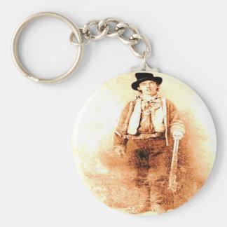 Billy das Kind Standard Runder Schlüsselanhänger