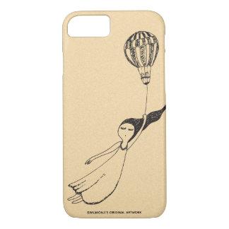Bimumonjis windiges Mädchen-Apple iPhone 7/8 Fall iPhone 8/7 Hülle