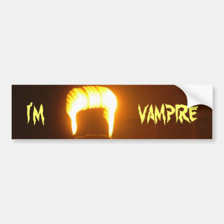 Bin ich ein Vampir Auto Aufkleber
