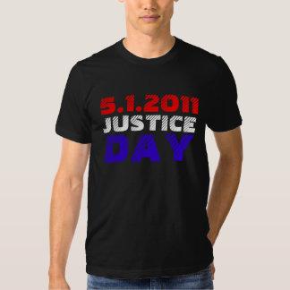 Bin Laden tot - Gerechtigkeits-Tag am 1. Mai 2011 Tshirts