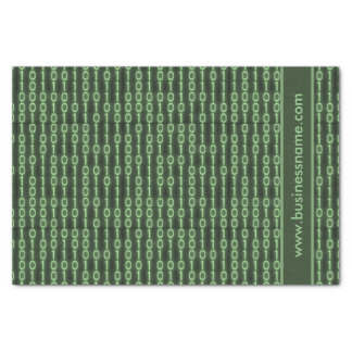 Binärer Code Seidenpapier