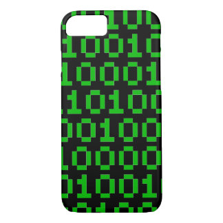 Binärer Pixelcode iphone Fall iPhone 8/7 Hülle