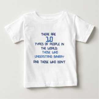 binärer Witz Baby T-shirt