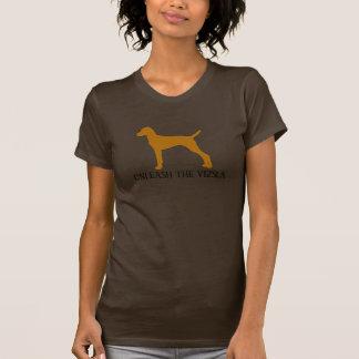 BINDEN Sie DAS VIZSLA los (Braun) T-Shirt