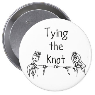 Bindung den Knotenknopf enorm Buttons