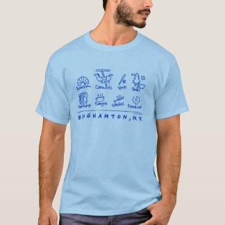 Binghamton, NY Ikonen-Shirt T-Shirt