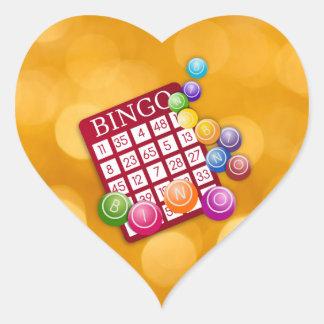 Bingo Herz Sticker