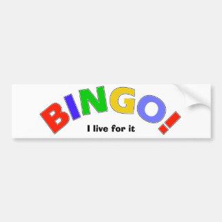 Bingo Auto Sticker