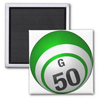 Bingo-Ballmagnet G 50 Quadratischer Magnet