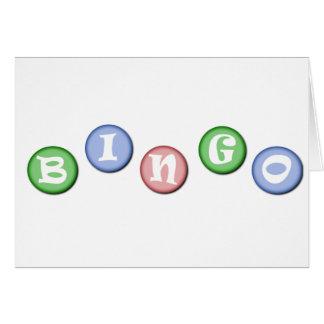 Bingo-Chips Karte