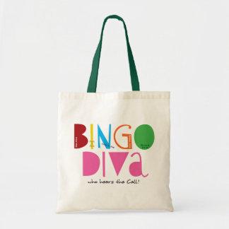 Bingo-Diva-Budget-Tasche Budget Stoffbeutel