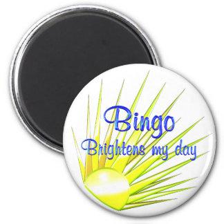 Bingo erhellt runder magnet 5,7 cm