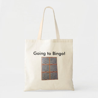 Bingo, gehend zum Bingo! Budget Stoffbeutel