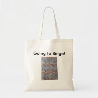 Bingo, gehend zum Bingo! Tasche
