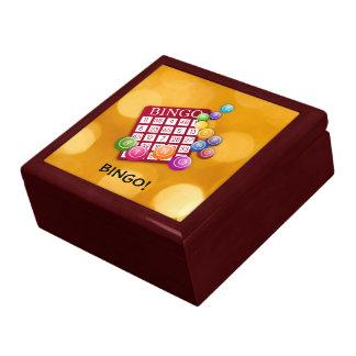 Bingo! Große Quadratische Schatulle