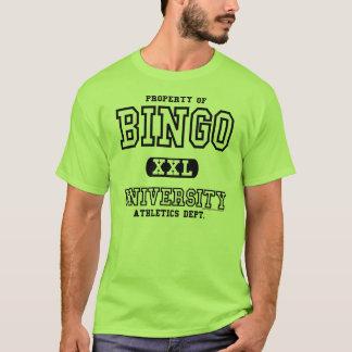 Bingo-Hochschulleichtathletik-Abt.-Shirt T-Shirt