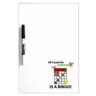 BINGO I wollen ein Bingo für Weihnachten Memoboards