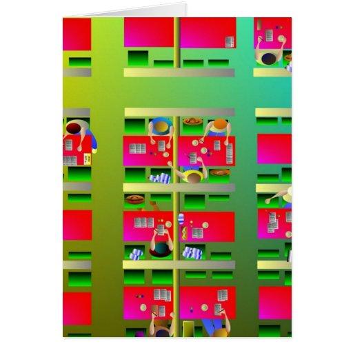 Bingo Grußkarte