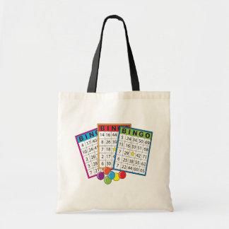 Bingo-Karten Budget Stoffbeutel