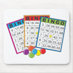 Bingo-Karten Mousepads