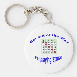 Bingo Keychain Schlüsselanhänger