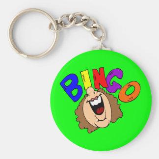 Bingo Keychain Standard Runder Schlüsselanhänger