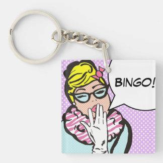 BINGO Keychain Schlüssel Anhänger