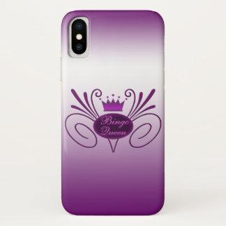 Bingo-Königin #3 iPhone X Hülle