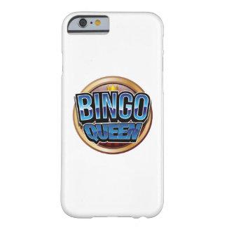 Bingo-Königin-Bingo-Spieler-Geschenk lustig Barely There iPhone 6 Hülle