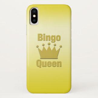 Bingo-Königin iPhone X Hülle
