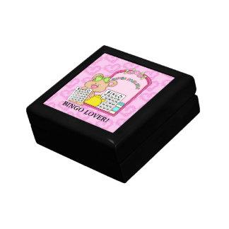 Bingo-Liebhaber-Geschenkboxen Kleine Quadratische Schatulle