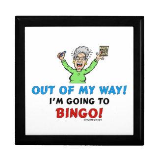 Bingo-Liebhaber Große Quadratische Schatulle