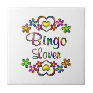 Bingo-Liebhaber Keramikfliese