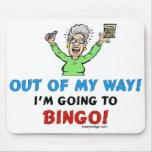 Bingo-Liebhaber Mauspad