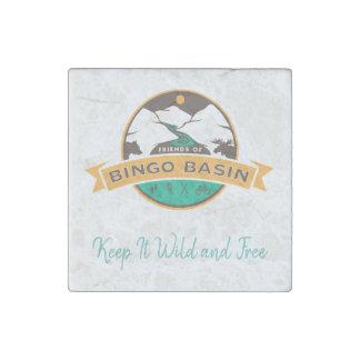 Bingo-Marmormagnet Stein-Magnet