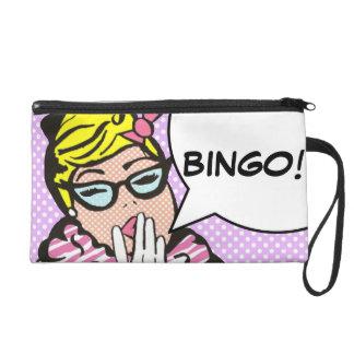 BINGO Pop-KunstWristlet