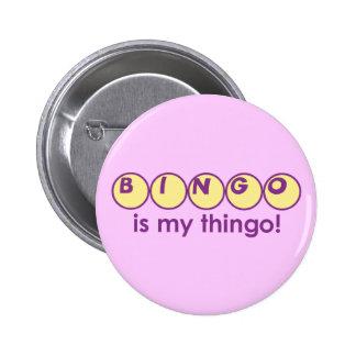Bingo Runder Button 5,1 Cm
