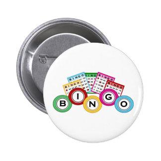 Bingo Runder Button 5,7 Cm
