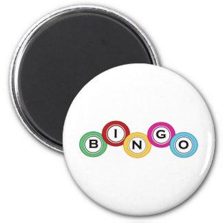 Bingo Runder Magnet 5,1 Cm