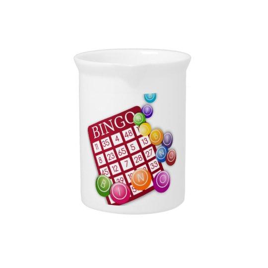 Bingo-Spiel Getränke Krüge
