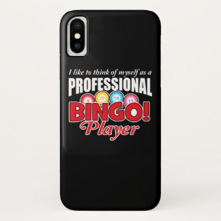Bingo-Spieler denken sich, wie beruflich iPhone X Hülle