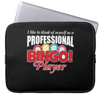Bingo-Spieler denken sich, wie beruflich Laptop Sleeve