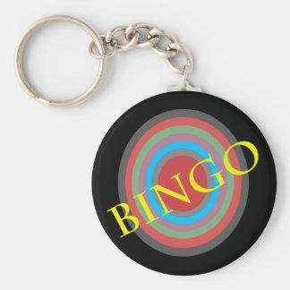Bingo Standard Runder Schlüsselanhänger